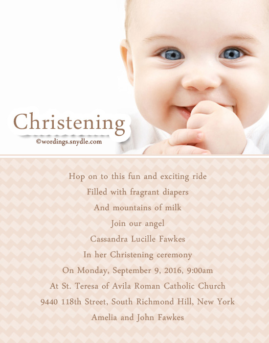 Christening invitation wording wordings and messages christening invitation greetings cards stopboris Image collections