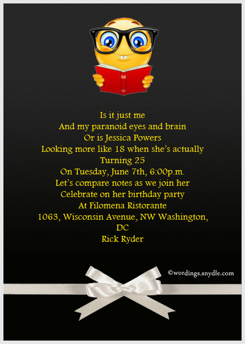 Funny Birthday Party Invitation Greeting Cards