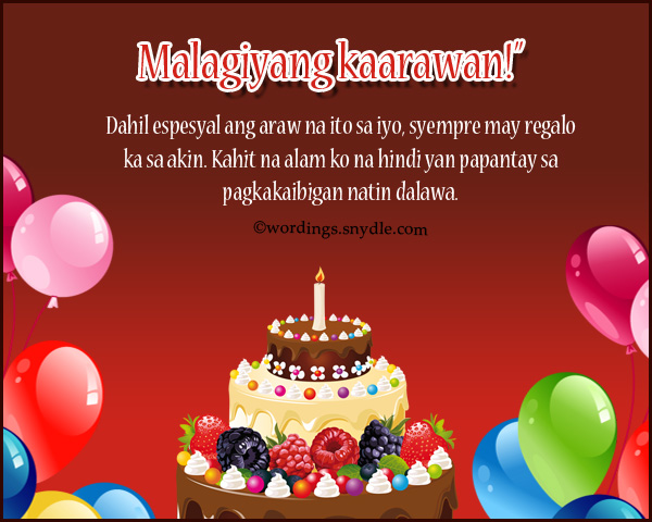 Happy birthday messages in tagalog wordings and messages happy birthday messages in tagalog m4hsunfo