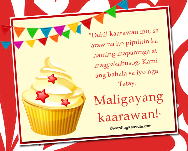 happy birthday wishes in tagalog