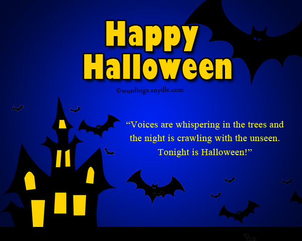 Happy Halloween Greetings – Wordings and Messages