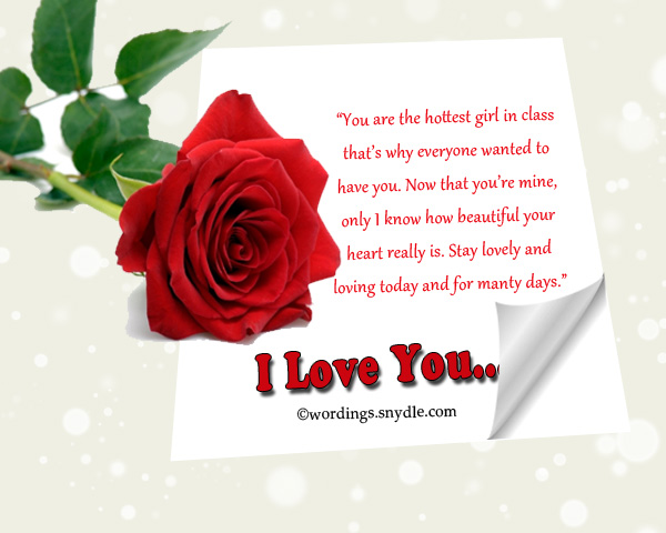 Romantic Love Messages For Her, Sweet Love Messages For ...