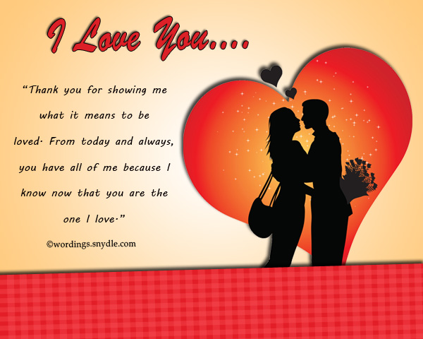 Special love messages for boyfriend