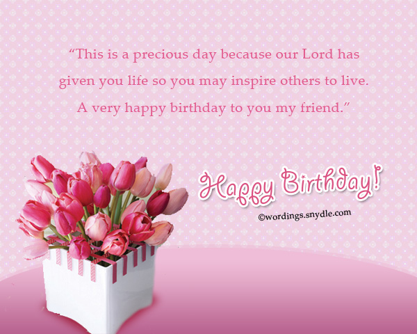 Christian Birthday Wishes and Messages Wordings and Messages – Birthday Greeting Christian