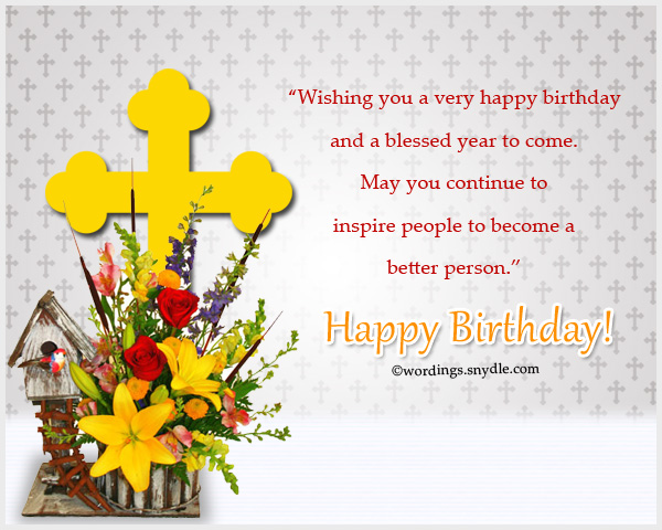 Christian Birthday Wordings And Messages