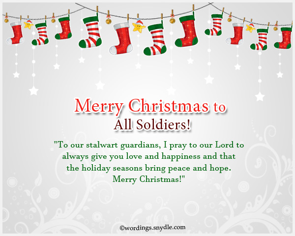 Merry christmas wishes for soldiers wordings and messages soldiers wishing merry christmas m4hsunfo
