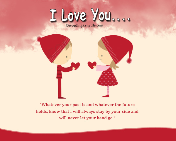 Sweet love message to your girlfriend