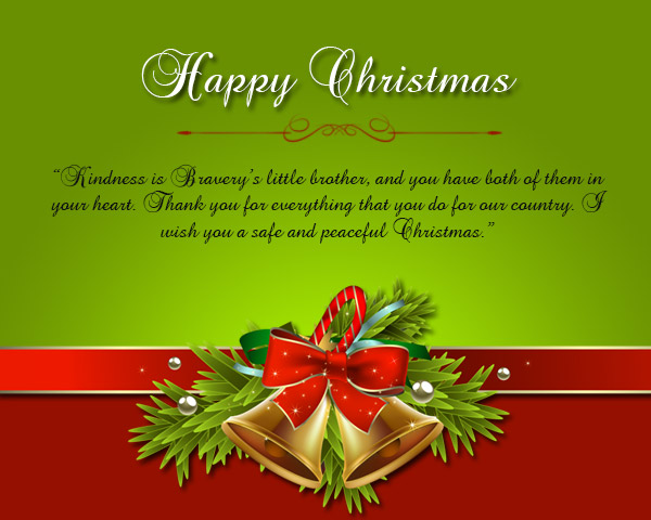 Merry christmas wishes for soldiers wordings and messages christmas greetings for soldier m4hsunfo
