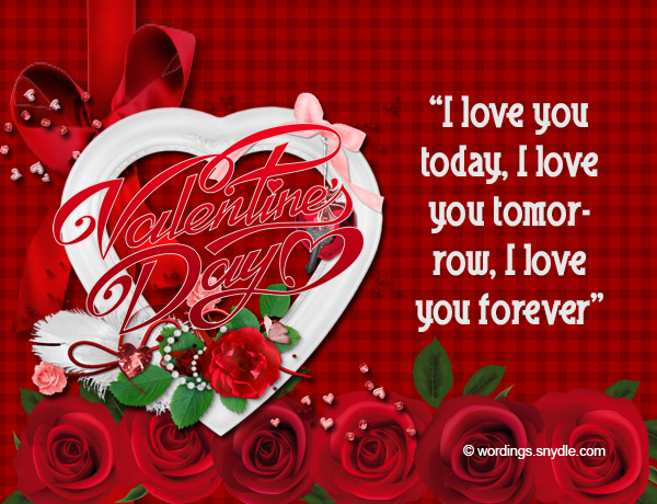 Valentines messages for girlfriend wordings and messages happy valentines messages m4hsunfo