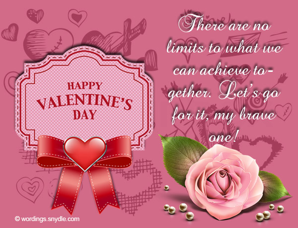 you are the only one that i want to share valentines day with believe me when i say that you are the most important man in my life on this day and