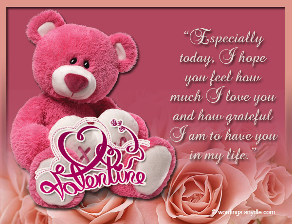 Valentines Messages for Girlfriend Wordings and Messages – Valentines Cards Messages