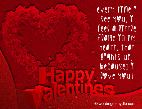 Valentines Messages for Boyfriend