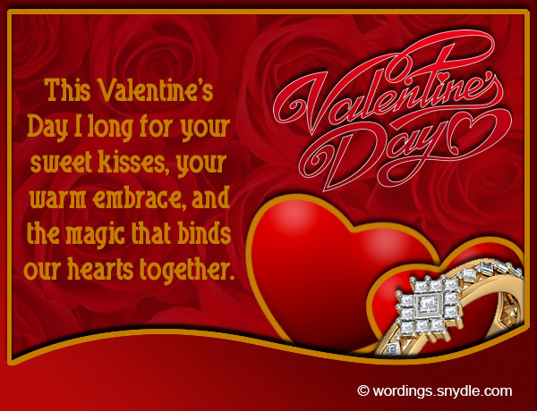 Valentines Day Messages for Boyfriend Wordings and Messages – What to Write on Your Boyfriends Valentines Card