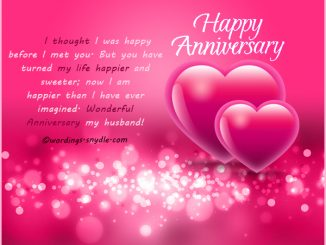 Anniversary archives wordings and messages