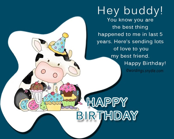 Brilliant Birthday Wishes For Best Friend Male Wordings And Messages Funny Birthday Cards Online Elaedamsfinfo