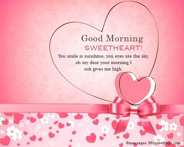 Good Morning Sweetheart: Good Morning Wishes For Lover