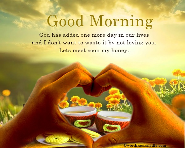 Good morning wishes for lover wordings and messages so these were the best of the best good morning messages for lovers feel free to send out these messages to your love to wish them good morning m4hsunfo