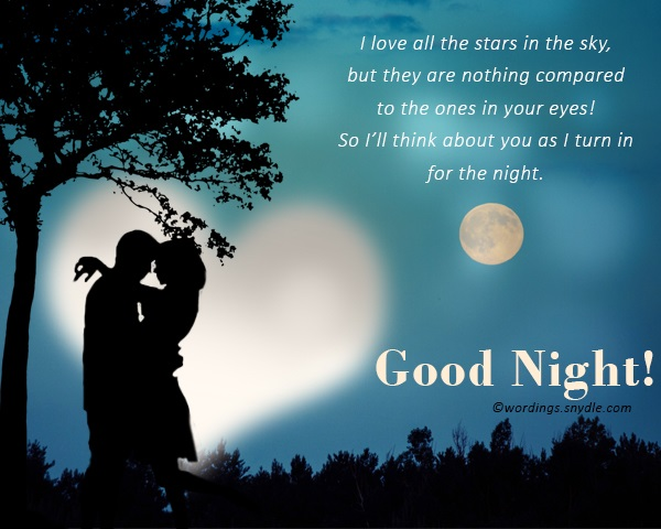good night wishes for lover wordings and messages
